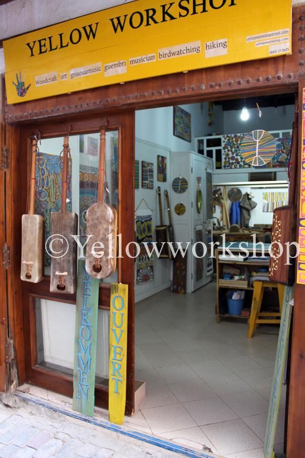 yellowworkshop, yellow-workshop, guembri, essaouira, maroc
