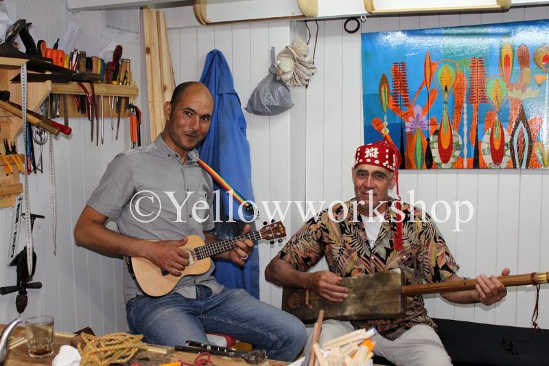 guembri sintir hajhouj gnawa music african instrument moroccan instrument bass guitar Gnawa Maalem Guembri Sounds