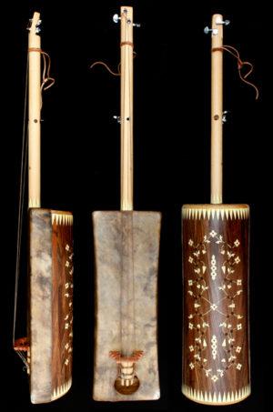 goat strings, Cordes de chèvre guembri,